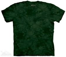M. Balsam Solid Color Green Tie Dye T-Shirt by The Mountain. Sizes S-3XL NEW