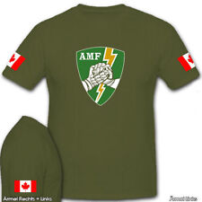 AMF ACE Mobile Force Canada Canadian Army Wappen Kanada Ahorn T Shirt #6867