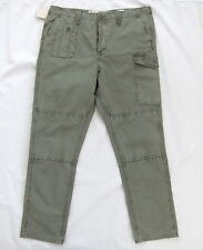 NEW LEVIS 212 EQUITY RELAXED FIT KHAKI CARGO PANTS W 34 L 32 BNWT