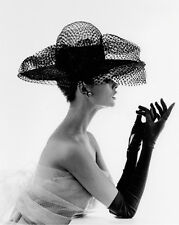 JOHN FRENCH MADAME PAULETTE NET HAT 1963 ART PRINT WITH FRAME OPTIONS OR CANVAS