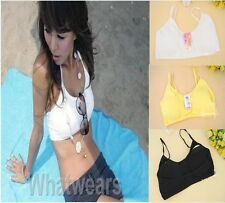 Nice Womens Underwear Sun-Top Wrapped Chest Bra Top 4Colors F8205 LJN
