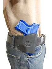New Barsony Black Leather Yaqui Gun Holster for Colt Kimber Compact 9mm 40 45