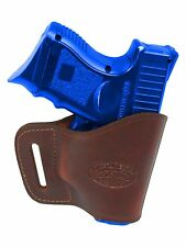 New Barsony Burgundy Leather Yaqui Gun Holster Walther Steyr Compact 9mm 40 45