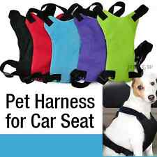 Dog Cat Pet Vehicle Safety Seat Belt Harness Travel Puppy Car Restraint SML