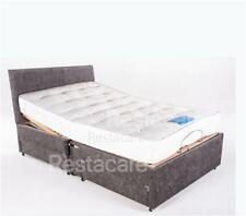 Small Double 4ft Adjustable Electric Bed 2 Side Draws Free Instal + 5yr Warranty