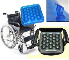 Wheelchair cushion Air/Preventing Bedsores Office Chair/Water Cushion/ Blue,Gray