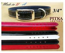 Quality Leather Dog Collars - Handmade Collars and Leashes for Medium Dog - USA