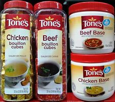 Tone's Rich Instant Bouillon Soup Consume Stock Flavoring ~ Pick One