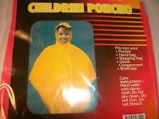 PRO KIDS / CHILDRENS RAIN PONCHOS / Choose from 4 Colors