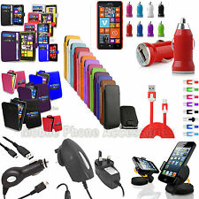 New Accessories For Nokia Lumia 625 Case Cover Car Holder Charger Mains Charger