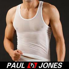 NEW HOT Men's Mesh Smooth COOL underwear Tank top Vest Tops 3 Size 5Colors 01