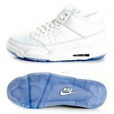 Nike Air Flight Classic Mens High Hi Top Trainers - White - All Sizes 6-12