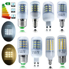 1/4/10X E27 E14 G9 E12 48/60/69 LED Corn Light SMD Bulb Lamps Equiv 40W 45W 50W