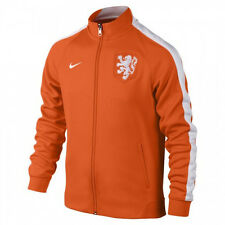 Nike 2014 Netherlands Mens Authentic N98 Track Jacket Orange NWT