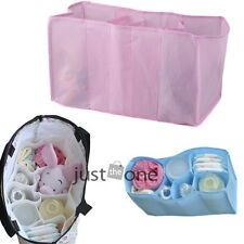 Baby Diaper Nappy Changing Storage Bag 7 Liner Lining Divider 3 Colors 3 Sizes