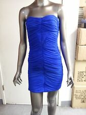 NEW bebe Addiction Ruched Strapless Tank Tube Dress. 2 colors to choose.