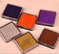 DIY 15 Candy Colors Cute Little Inkpad Stamp Pad Ink Stamp Couples 4x4cm Square