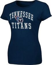 Tennessee Titans NFL Team Apparel Women's Forward Progress Shirt Navy Plus Sizes