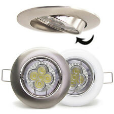 20X 10W LED Recessed Downlight Kit Ceiling down light GU10 dimmable chrome white