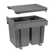 Kitchen Pull Out Recycle / Waste Bin for 400 mm Unit / With Soft Close System