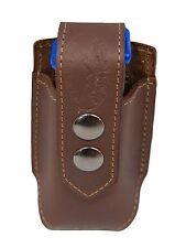 NEW Barsony Brown Leather Single Magazine Pouch Astra Beretta Compact 9mm 40 45