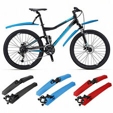 Cycling Mountain Road MTB Bicycle Bike Front Rear Mud Guards Mudguard Fender Set