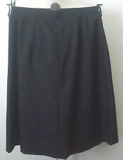 NEW WOMANS DARK NAVY UNIFORM/OFFICE/CLASSIC SKIRT 55% POLYESTER/45% WOOL #20289