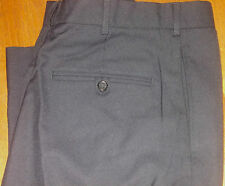 NEW MENS POLICE DARK NAVY UNIFORM TROUSERS 55% POLYESTER/45% WOOL# 20291