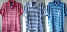 NWT Tommy Hilfiger Men's Polo Shirt Striped Size Medium, Large, or X-Large