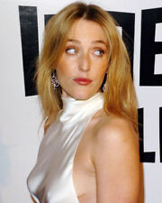 GILLIAN ANDERSON CANDID WHITE GOWN PHOTO OR POSTER
