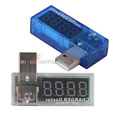 New Portable Mini USB Power Current Voltage Tester Mobile Charger Doctor HTE#