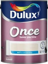 Dulux Retail Once Matt Colours 2.5L & 5 Litres Available LOADS OF COLOUR OPTIONS