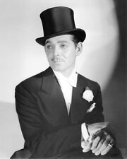 CLARK GABLE IN TOP HAT SUAVE PHOTO OR POSTER