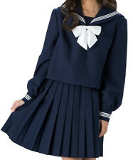 Japanese Japan Korean School Girl Uniform Cosplay Costume Dress Sailor NEW