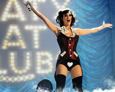 KATY PERRY IN SHOWGIRL COSTUME LEATHER BOOTS ON STAGE PHOTO OR POSTER