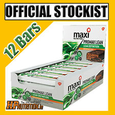 MaxiNutrition Official Promax Lean/Diet Protein Bars - 12 Bars - FAST DELIVERY