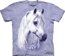 Moon Shadow Kids T-Shirt from The Mountain. Horse Equine Animal Childs Sizes NEW