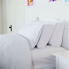 Bedding 1-Piece White Solid Fitted Sheet 100% Cotton Extra 15 New Sizes 800TC
