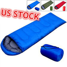 Outdoor Waterproof Travel Envelope Sleeping Bag Camping Hiking Carrying Case US
