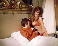 RAQUEL WELCH BRA PANTIES DUDLEY MOORE LOOKS AT BREASTS BEDAZZLED PHOTO OR POSTER