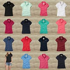 HOLLISTER by Abercrombie WOMEN'S TIDE BEACH POLO SHIRTS NEW SIZES XS, S, M, L