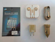 Iphone 5&5s Cell Phone Accessories 6pc Bundle Earbud Charger BONUS STYLUS PEN!!!