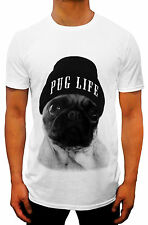 fashion PUG LIFE HOMIES NYC SINGLET T-SHIRT TANK TRILL YOLO SWAG hipster COMEDY