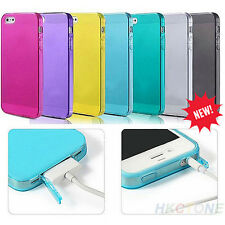 HOT SALE DURABLE SILICONE TPU MATTE STYLISH CASE COVER FOR APPLE IPHONE 4 4S 4G