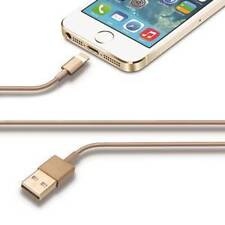 CHAMPAGNE USB DATA SYNC CABLE LEAD CHARGER for APPLE iPHONE-5 iPod iPad Nano
