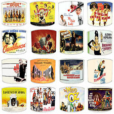 Classic Films Movies Lamp shades Ideal To match Duvets Curtains Bedding