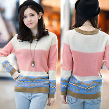 Best quality Autumn Winter Womens Knitwear Tops Loose Casual Sweater Pullover