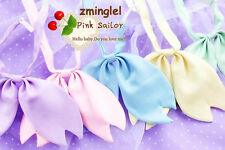 Super Cute!! Sakura cherry shape Women Girl Sailor Japan Uniform Bowtie Cravat