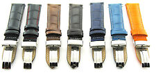 17-18-19-20-21-22-23-24MM LEATHER BAND STRAP DEPLOYMENT CLASP FOR BREITLING #1
