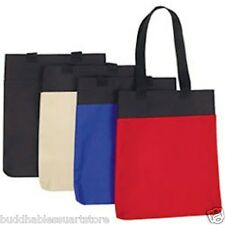 1 DOZEN Reusable Grocery Shopping Tote Totes Bag Bags 14x15 WHOLESALE LOT BULK